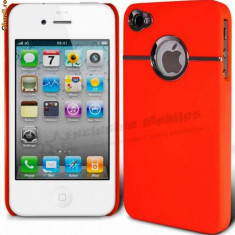 HUSA, TOC TELEFON iPHONE 4 4S +FOLIE DE PROTECTIE ECRAN - Husa Telefon Apple