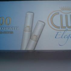 Foite tigari - Tuburi pentru tigari Club Elegant
