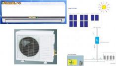 Aer Conditionat Split, 12000 BTU, A++ - 100% Solar Air Conditioner 12000 BTU. -15 +50'C. Also work 4h without sun. New
