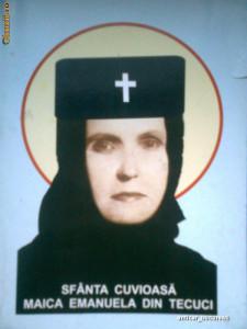 Sfanta Cuvioasa Maica Emanuela din Tecuci - Sfanta Maica Veronica de la Vladimiresti (2010) foto