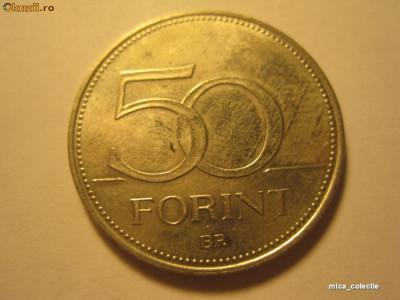 Moneda Ungaria * P1*  50 forint 1995 foto