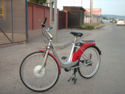 "BICICLETA ELECTRICA ""PIAGGIO ALBATROS"" foto"