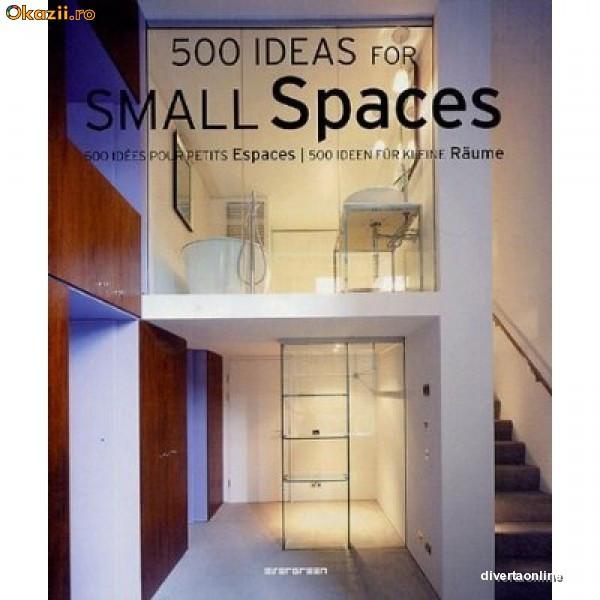 500 Ideas For Small Spaces, Simone Schleifer SKU YNDC19346