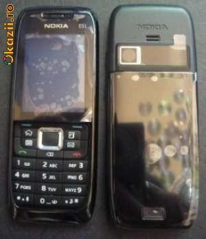 Carcase Carcasa Nokia Originale,E51,N82,6500s,E66,E52,E72 Complete foto mare