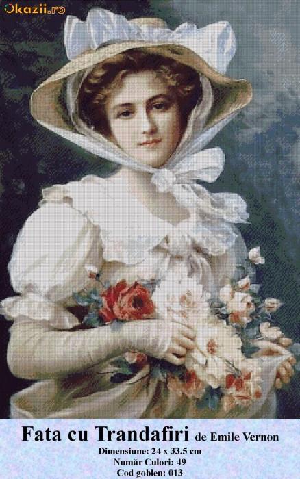 Дама с цветами картинки 3