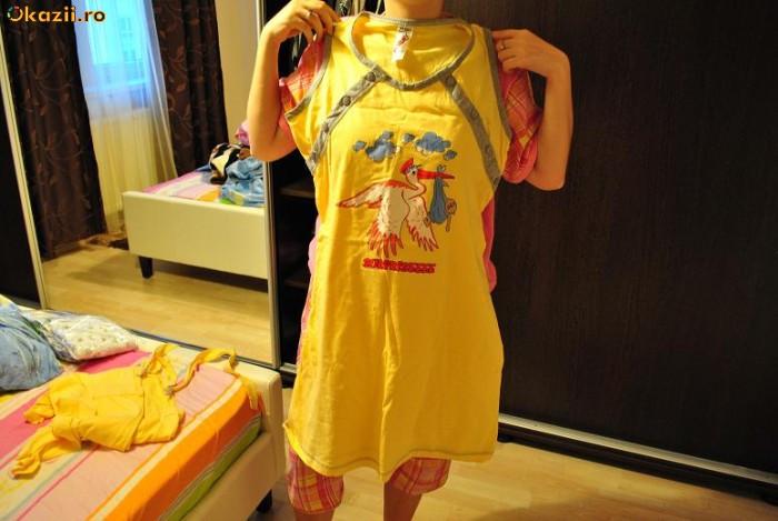 camasa de noapte pentru gravide/alaptat foto mare