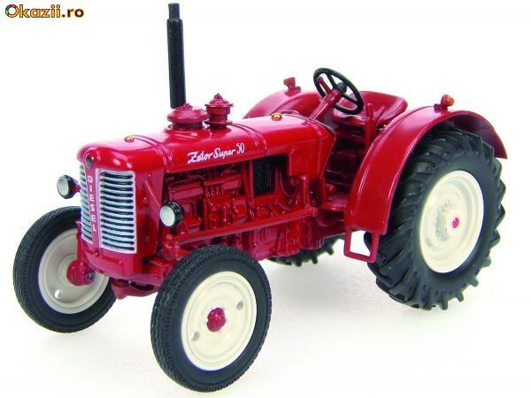 Macheta tractor Zetor Super 550 1:43 foto mare