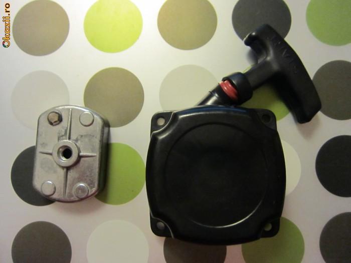 Starter cu fir pentru trotineta cu motor/ drujba foto mare