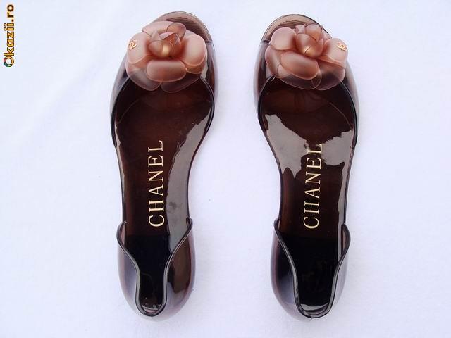 Balerini Chanel de cauciuc foto mare