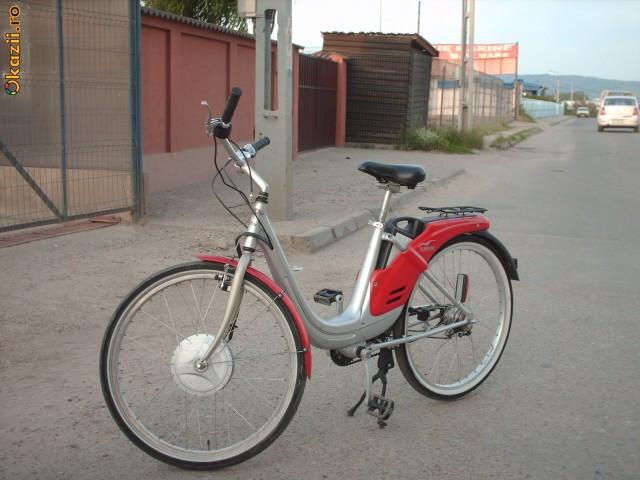 """BICICLETA ELECTRICA """"PIAGGIO ALBATROS"""" foto mare"""