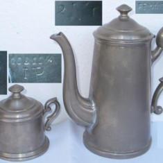 2 vase vechi din metal (reinnickel)