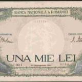 Bnk bn romania 1000 lei 10 septembrie 1941, aunc