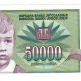 Bnk bn iugoslavia 50000 dinari 1992 xf, p117