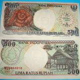 INDONEZIA 1992-1999 - 500 RUPII - UNC