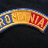 Emblema militara - Tricolor pastelat si denumit