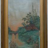 La pescuit - semnat  Dubois