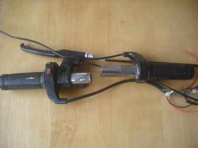 Vand maneta acceleratie scuter electric + maneta frana foto