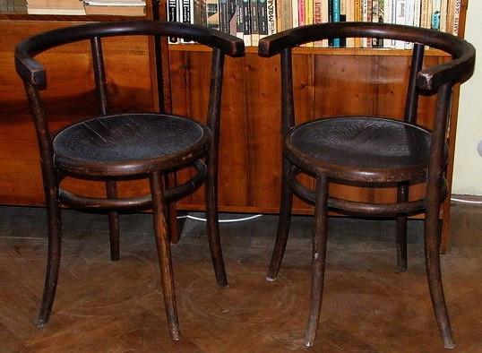 scaun fotoliu foarte vechi thonet 2 bucati. Black Bedroom Furniture Sets. Home Design Ideas