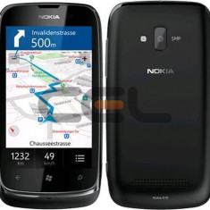 Vand Nokia Lumia 610, blocat in reteaua Orange. - Telefon mobil Nokia Lumia 610, Negru, Neblocat