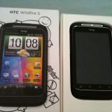 Telefon mobil HTC Wildfire S, Neblocat - HTC Wildire S nou, nefolosit, pachet complet