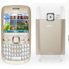 Telefon mobil Nokia C3 - Vand/Schimb Nokia C3 White-Gold
