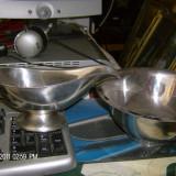 SOSIERA SI BOL ARGINTAT - Metal/Fonta, Vase