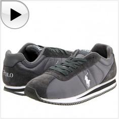 Adidasi copii - 100% AUTENTIC - Adidas RALPH LAUREN Runner Lace - Adidas Copii, Baieti - Adidasi Originali RALPH LAUREN
