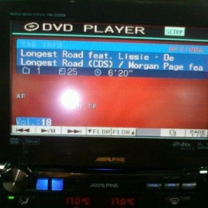 DVD player auto Alpine