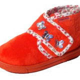 Papuci de casa Titanitos mar 30 33 34 - Papuci copii, Culoare: Orange