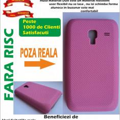 Husa Samsung Galaxy Ace Plus S7500 Roz Case material dur MESH Roz !!!LICHIDARE DE STOC!!! - Husa Telefon
