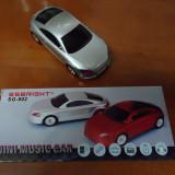 RADIO Audi MINI MASINUTA-BOXA MP3, CU SLOT CARD/USB-BOXA MASINA AUDI NEGRU RADIO-LICHIDARE STOC ! - Aparat radio
