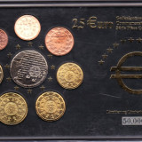Portugalia 8 monede euro comemorative, inclusiv 2, 5 euro, in cutie cu certificat