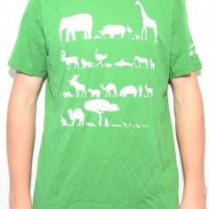 Tricou Puma Unity Graphic Tee 73902006, ORIGINAL, bumbac, verde, marimi: S, XL - Tricou barbati Old Navy, Marime: S, Maneca scurta