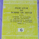 INDICATOR DE NORME DE DEVIZ PENTRU LUCRARI DE CONDUCTE,TRANSPORT SI DISTRIBUTIE A GAZELOR SI LICHIDELOR PETROLIERE/ED.II-A/1981