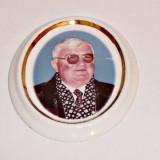 Foto ceramica pentru cruci funerare ( color, marime mare, una persoane )