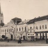 Carte postala(ilustrata)-TURDA-Piata Republicii