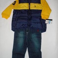 Haine Copii 1 - 3 ani - Set US Polo Assn Original - baieti 2 ani
