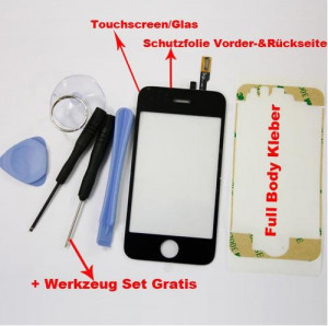 IPHONE 3G ECRAN Touchscreen + Set de reparat ecranul+ mica supriza foto