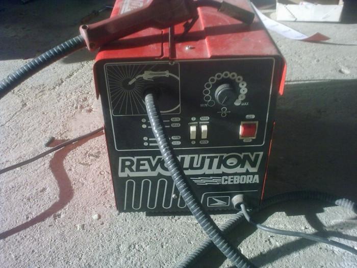 Aparat sudura argon Cebora Revolution foto mare