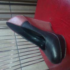 Pantofi dama, Marime: 36, Negru - Pantofi cu platforma