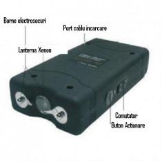 Electrosocul TW 800 Foarte Mic Putere Mare 2 Milioane Volti, Cu lanterna