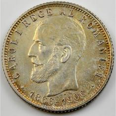 Monede Romania - Ticuzz - Romania 1 Leu 1906 - Piesa de colectie