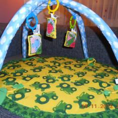 Lenjerie pat copii - Paturica - centru de activitate bebe
