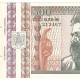 ROMANIA 500 LEI / 1992. aUNC