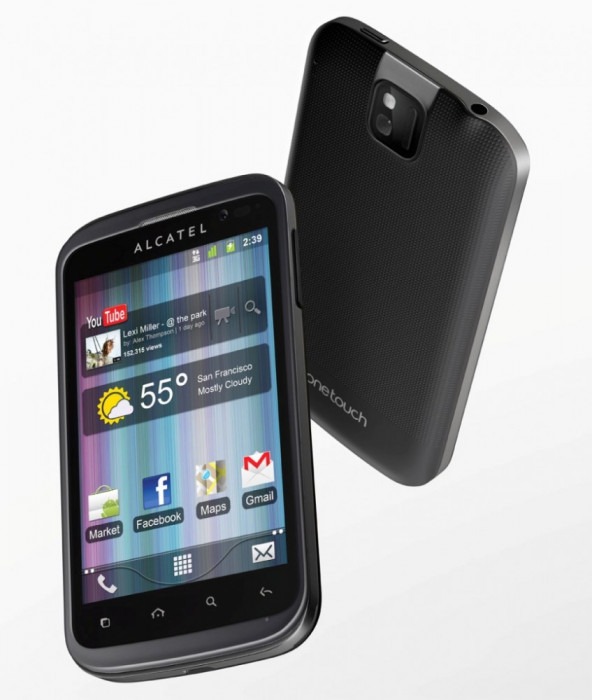 vand alcatel one touch 991 super pret foto mare