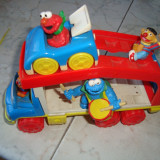 Masinuta de jucarie Altele - Figurine sesame streets in masina