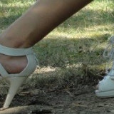 Sandale dama, Marime: 39, Alb - Sandale albe superbe, perfecta stare! Super oferta!