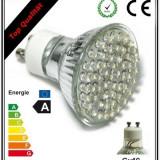 Bec/neon, Becuri economice - Spoturi cu LED - Spot cu LED - Promotie - 5 X Bec 54 LED-uri Marca lux.pro Germany Gu10 230V - Becuri cu LED-uri