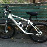 VAND BICICLETA MTB ORBEA SATELLITE - Mountain Bike, 17 inch, Cu amortizor, Aliaje de aluminiu, Drept(Flatbar)