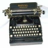 Masina de scris Royal originala 1906
